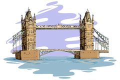 London-Brücke Stockfotos