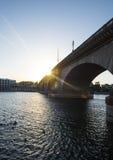 London-Brücke in Arizona Stockbild