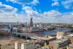 London-Brücke auf der Themse Lizenzfreies Stockbild
