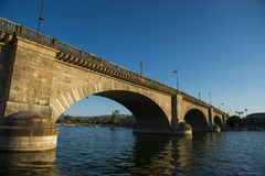 London-Brücke in Lake Havasu Lizenzfreie Stockbilder