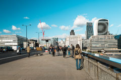 London-Brücke in London, England Lizenzfreies Stockfoto