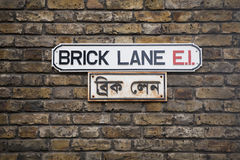 London Brick Lane Royalty Free Stock Photos