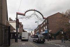 Brick lane,  street  in London 2017 Royalty Free Stock Photography