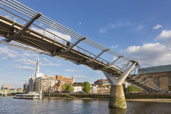 london bridżowy milenium Obrazy Royalty Free