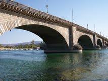 London Bridge. The original London Bridge, Arizona stock photos