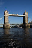 London Bridge. View from Thames of the London Bridge Royalty Free Stock Images