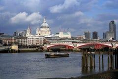 London Bridge. Postcard view of London Bridge royalty free stock photos
