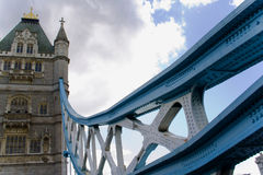 London Bridge. The beautiful Tower Bridge over the river Thames in London Stock Photo