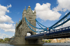 London Bridge. The beautiful Tower Bridge over the river Thames in London Stock Image