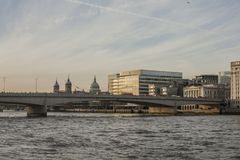 Streets of London - London Bridge. stock image