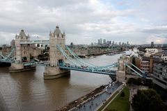 London bridge and city views Stock Photo