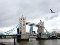 London bridge and city views Royalty Free Stock Photo