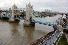 London bridge and city views Royalty Free Stock Photos