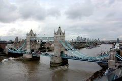 London bridge and city views Royalty Free Stock Photo