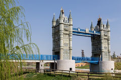 London Bridge at Europa Park Royalty Free Stock Photo