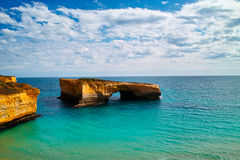 London Bridge of great ocean road Royalty Free Stock Images
