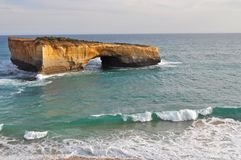 London bridge. Great Ocean Road, Australia Royalty Free Stock Image