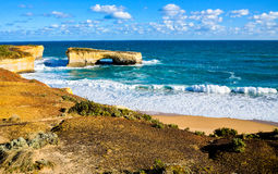 London bridge in Great Ocean Road Australia Royalty Free Stock Photography
