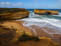The London bridge by  great ocean road Royalty Free Stock Photos