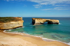 London Bridge, Great Ocean Road, Australia. Stock Photo