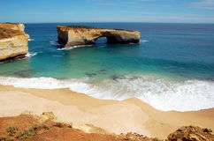 London Bridge, Great Ocean Road, Australia. Royalty Free Stock Images
