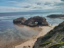 London bridge on the headland of Point Nepean Royalty Free Stock Photo