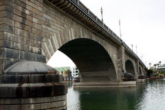 London Bridge at Lake Havasu Stock Photography