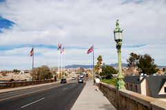 London Bridge in Lake Havasu City Stock Photo