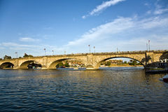 London Bridge in Lake Havasu, old Royalty Free Stock Images