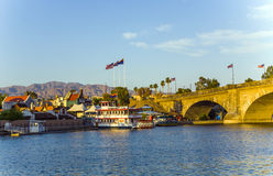 London Bridge in Lake Havasu, old Stock Image