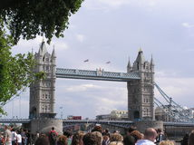 London Bridge in London England UK. The real London Bridge in London England Stock Photography