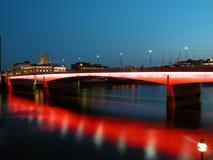 London Bridge, London. Full View London Bridge at night, London, UK, 2005 Stock Images