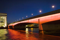 London Bridge, London, UK Royalty Free Stock Photo
