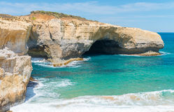 London Bridge lookout on the Great Ocean Road, Australia Royalty Free Stock Images