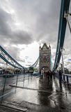 London bridge. At mid day, In london Royalty Free Stock Images