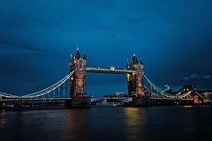 London Bridge at night Stock Image