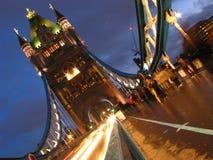 London bridge at night. London bridge is one of the most beautiful bridge in the world Stock Photos