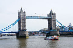 London Bridge over Thames River Royalty Free Stock Images