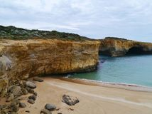 London bridge  of Port Campbell National Park Stock Images