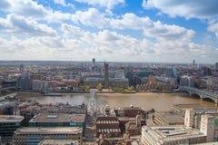London bridge on the river Thames. Stock Photo