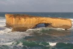 London Bridge Rock Formation. From the Great Ocean Road Royalty Free Stock Photography