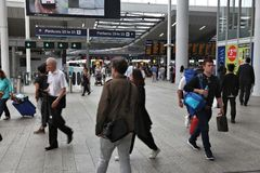 London Bridge station Royalty Free Stock Photography