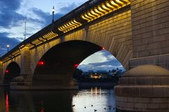 London Bridge at sunset Stock Images