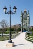 London Bridge Tower in Madrid Stock Photo