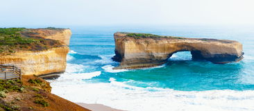 London Bridge at The Twelve Apostles in Victoria, Australia Stock Photo