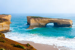 London Bridge at The Twelve Apostles in Victoria, Australia Stock Photography