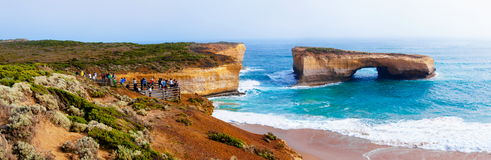London Bridge at The Twelve Apostles in Victoria, Australia Royalty Free Stock Photos