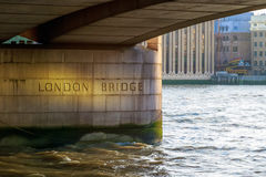 London Bridge in the UK Stock Photo