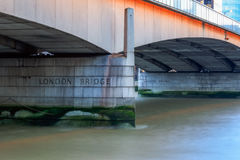 London Bridge in the UK Royalty Free Stock Photography