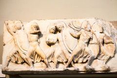 LONDON, BRITISH MUSEUM. Ancient Greek collection of Pantheon Stock Photo